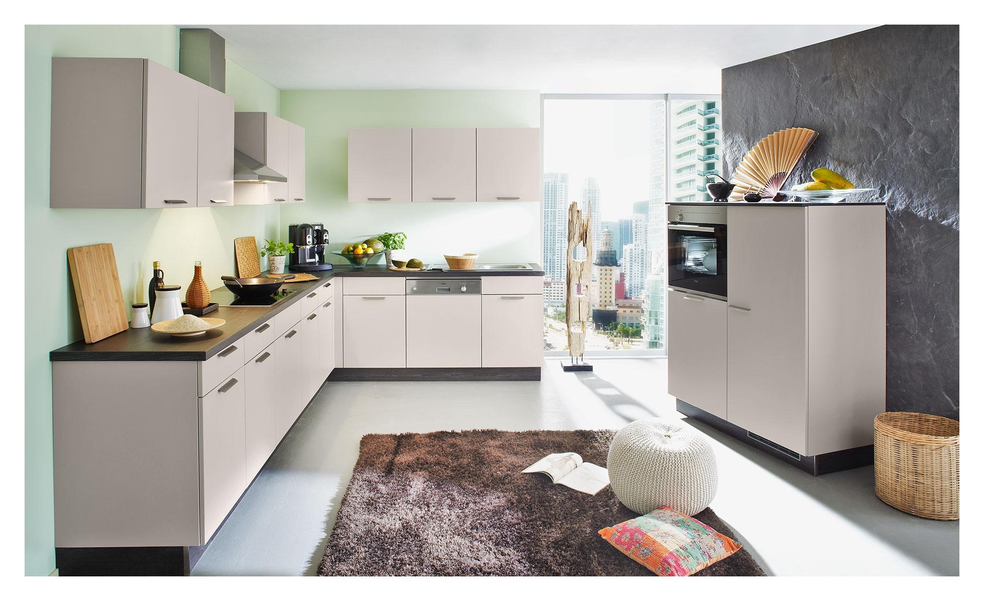 Nolte Wohnküche Manhattan uni – bei Möbel Heinrich kaufen!