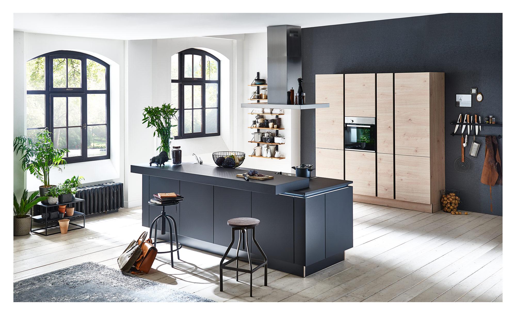 Nolte Inselkuche Plus Artwood Bei Mobel Heinrich Kaufen
