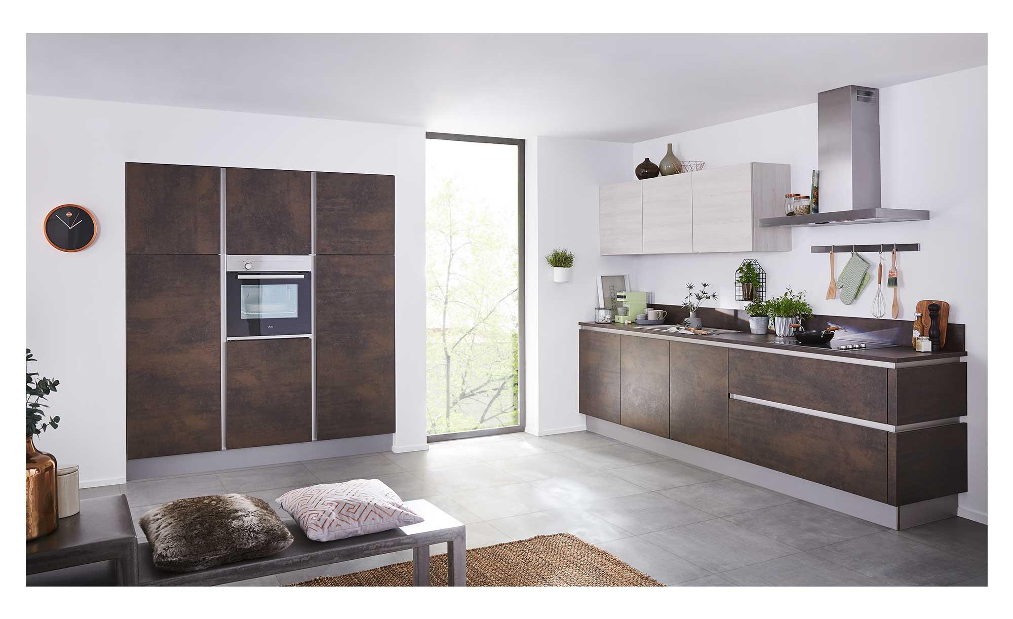 Nolte Wohnkuche Metal Manhattan Bei Mobel Heinrich Kaufen