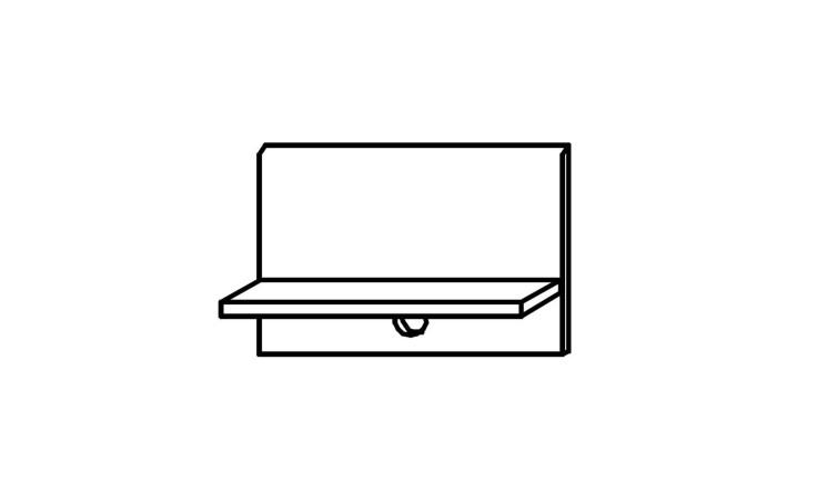 Nachttisch-Paneel Kühlungsborn