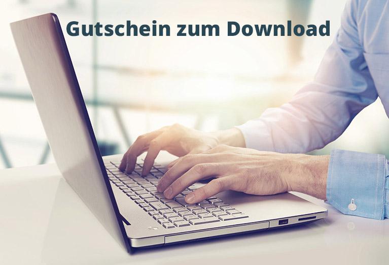 Geschenkgutschein Download