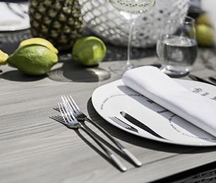 Kettler Palma Modular White Wash Tischplatte
