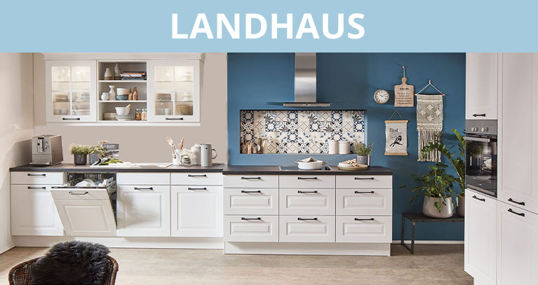 Zur Küchenstilseite Landhaus